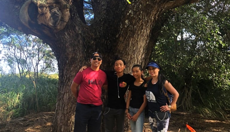 Beginners Guided Hike Oahu Tree