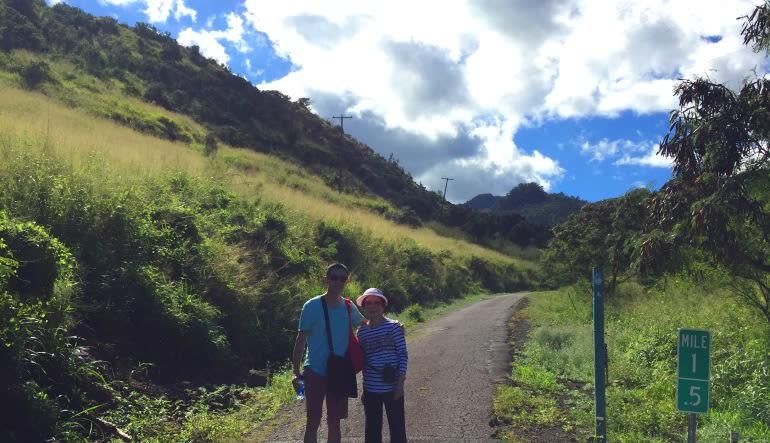 Beginners Guided Hike Oahu Family