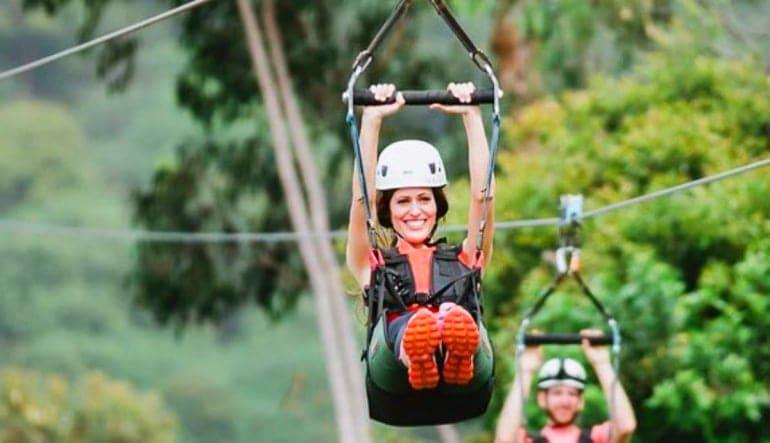 Treetop Zipline Tour Maui, 6 Line Tour with QUICKJUMP