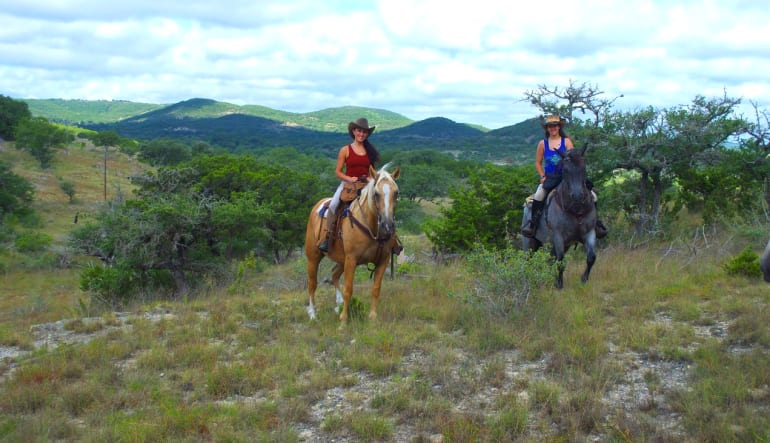 Horseback Riding San Antonio, Texas Hill Country Friends