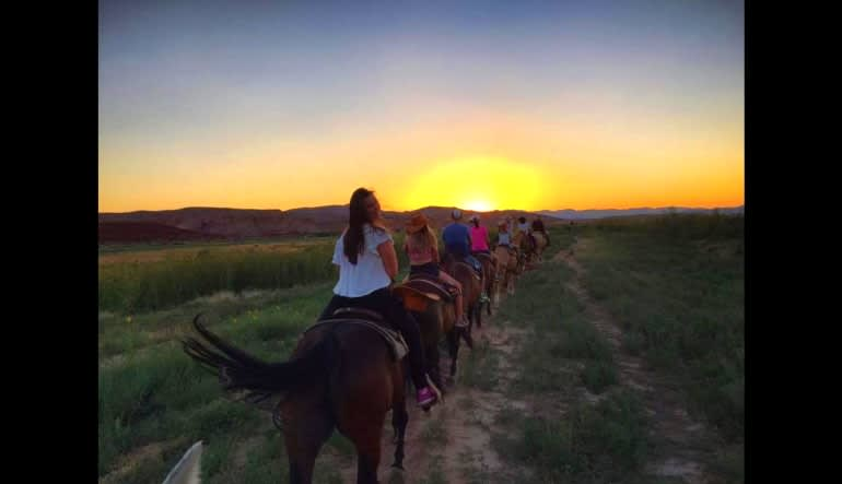 Wild West Horseback Riding Las Vegas Sunset Ride