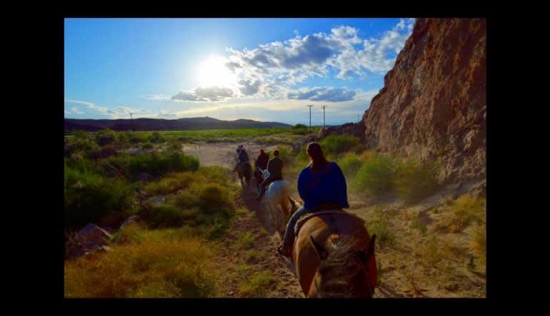 Wild West Horseback Riding Las Vegas  Riding Away