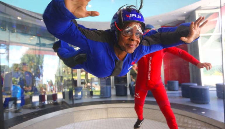 Indoor Skydiving Orlando Feeling Unsure