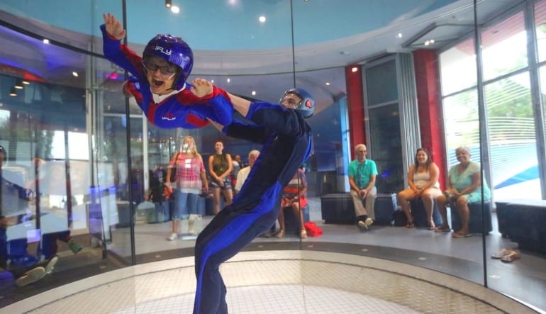 Indoor Skydiving Orlando Happy Child