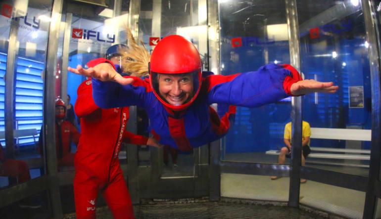 Indoor Skydiving Orlando Lady