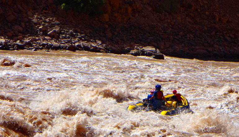 Whitewater Boating Expedition, Cataract Canyon Rapids