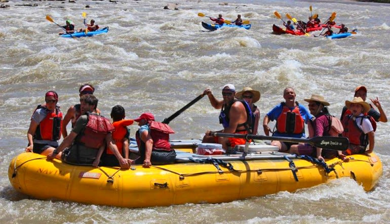 Whitewater Boating Expedition, Cataract Canyon Team