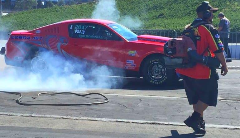 Mustang Drag Racing, Ride and Drive - Concord Smoke