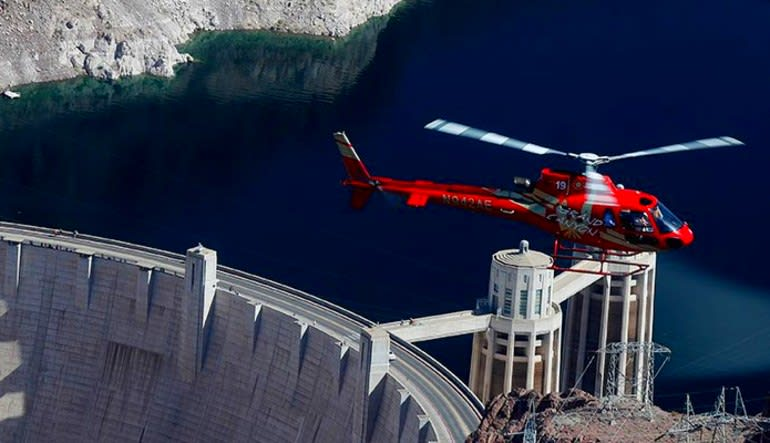 Deluxe Coach, Helicopter and VIP Ground Tour Hoover Dam Fly Over