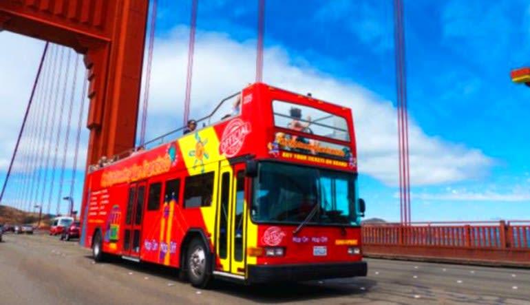 San Francisco Bus Tour, 2 Day Hop-On-Hop-Off Tour With Alcatraz Tour