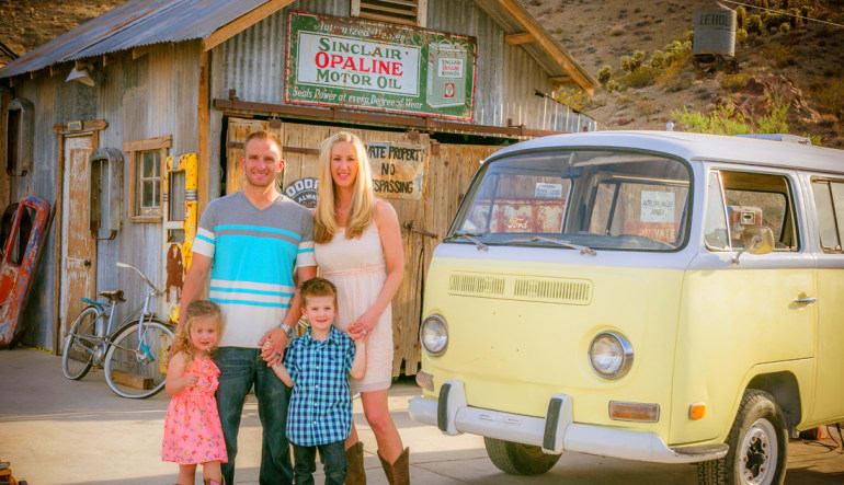 Eldorado Canyon Mine Coach Bus Tour from Las Vegas Family