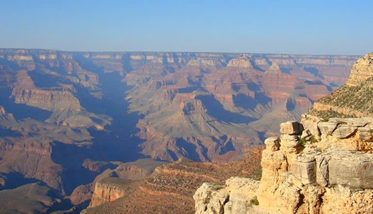 Motor Coach Bus Tour to Grand Canyon South Rim From Las Vegas Views