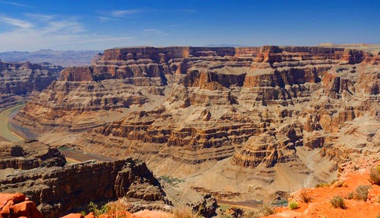 Motor Coach Bus Tour to Grand Canyon West Rim From Las Vegas Landscape