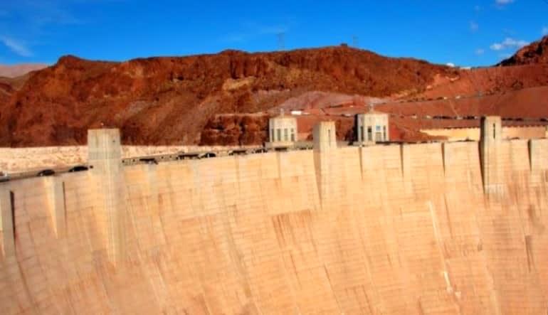 Grand Canyon West Rim Luxury Mini Coach Tour from Las Vegas Dam Wall