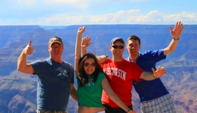Grand Canyon West Rim Luxury Mini Coach Tour from Las Vegas Friends