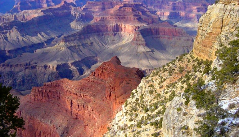 Grand Canyon South Rim Coach Bus Tour from Phoenix Views
