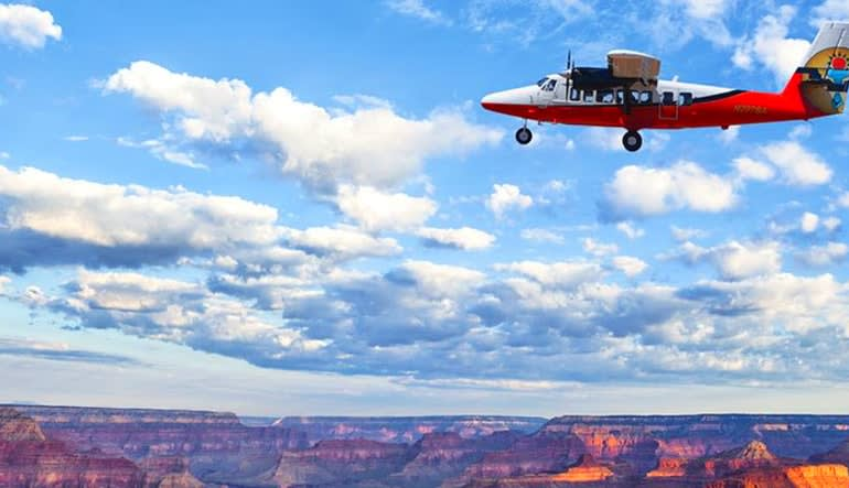 Scenic Canyon Flight and River Adventure