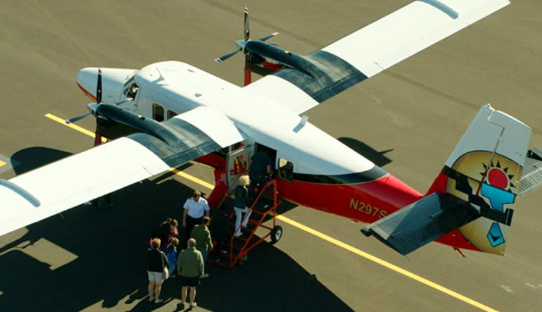 Scenic Canyon Flight and River Adventure Aircraft