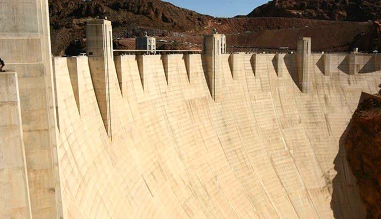 Hoover Dam Motor Coach Tour Dam Wall