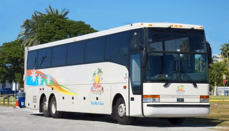 Motor Coach Shuttle, Miami to Key West Express (Round Trip!)  Bus