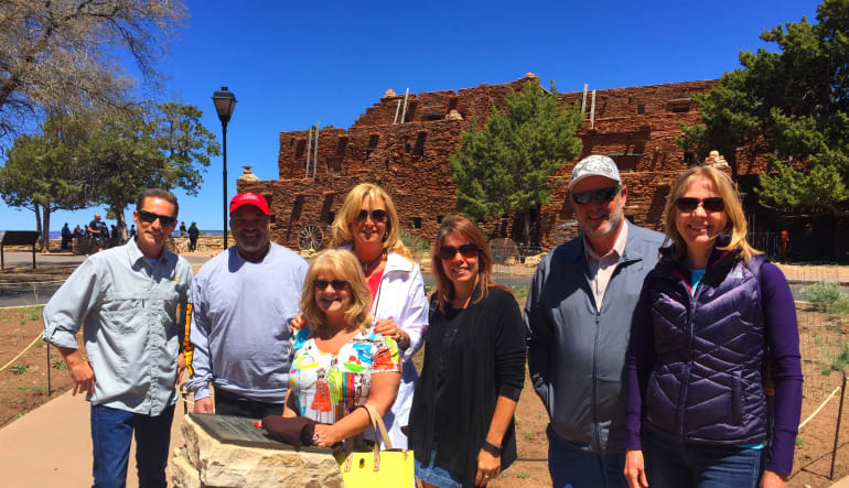 Grand Canyon South Rim Coach Bus and Helicopter Tour from Phoenix Group