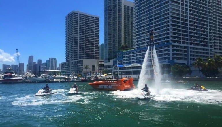 Flyboarding Miami, Sea Isle Marina