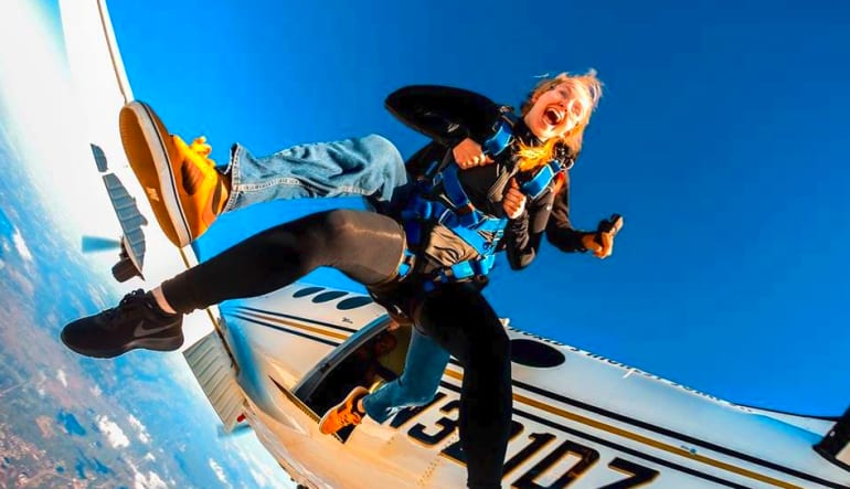 Skydive Orlando, Titusville - 11,000ft Jump Out Of Plane