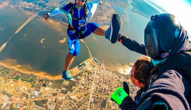 Skydive Orlando, Titusville - 11,000ft Jump Tandem