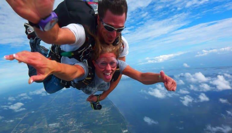 Skydive Orlando, Titusville - 11,000ft Jump Lady