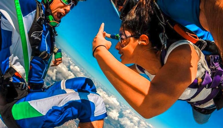 Skydive Orlando, Titusville - 11,000ft Jump Free Fall