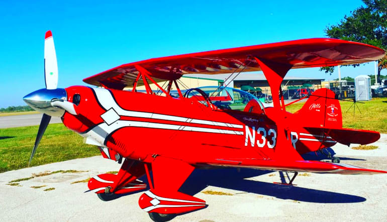 Biplane Aerobatic Flight Kissimmee - 1 Hour Aircraft