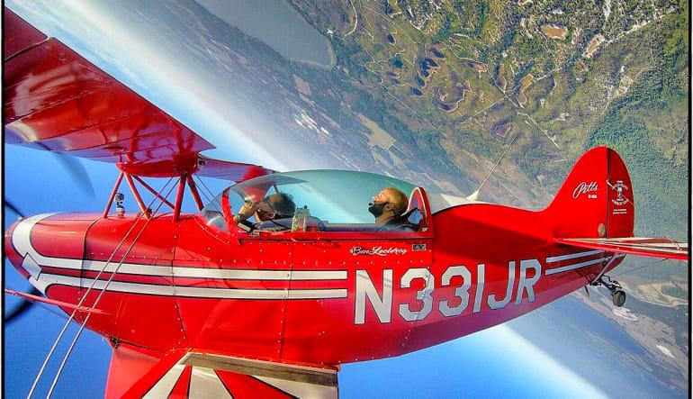 Biplane Aerobatic Flight Kissimmee - 1 Hour Spin