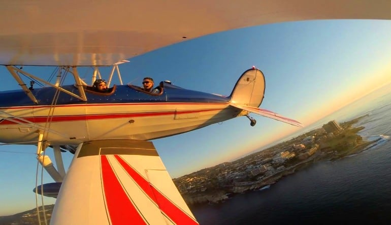 Aerobatic Biplane Flight San Diego - 45 Minutes In Flight