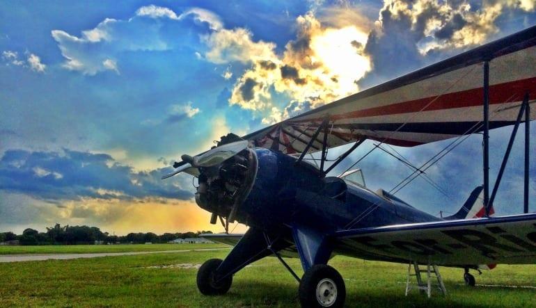 Biplane Aerobatic Flight Cocoa Beach - 17 Minute Flight Aircraft