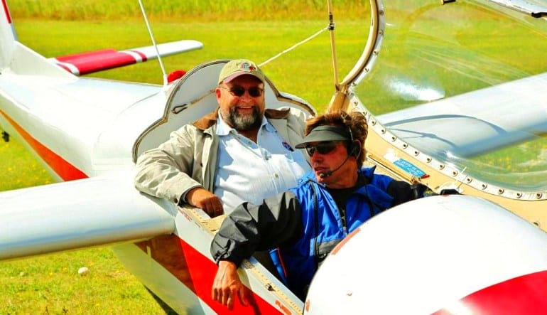 Glider Flight Acadia for 2, 5,500ft - 45 Minutes On the Ground