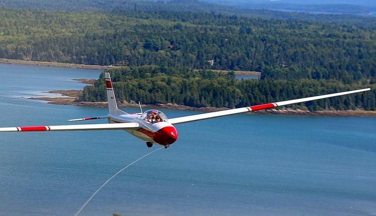 Glider Flight Acadia for 2, 4,000ft - 35 Minutes Glide