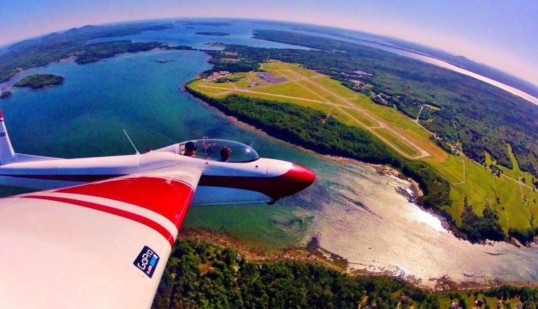Glider Flight Acadia for 2, 2,500ft - 20 Minutes