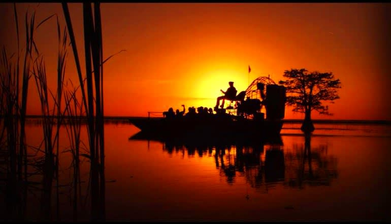 Orlando Airboat Ride, Night Tour - 1 Hour Sunset