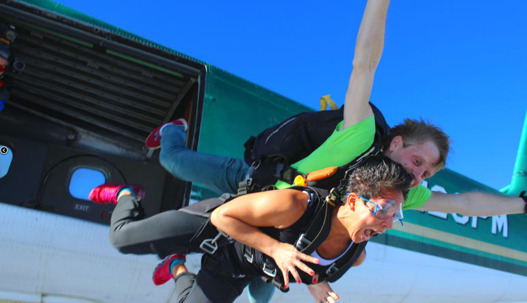 Skydive Orlando, Lake Wales Screaming Lady