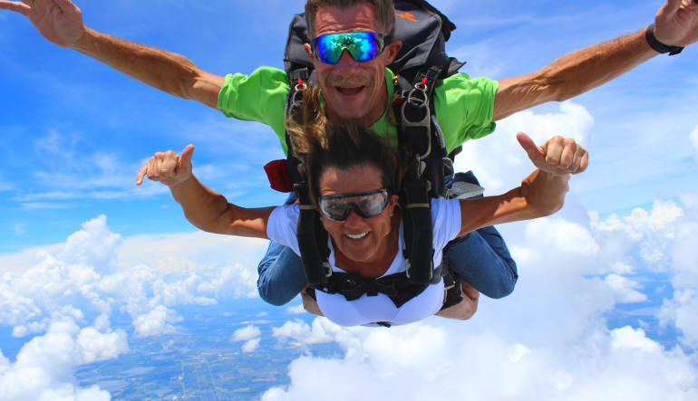 Skydive Orlando, Lake Wales Tandem