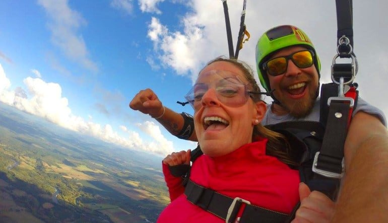 Skydive Toledo, Weekday Special - 13,000ft Jump Smile