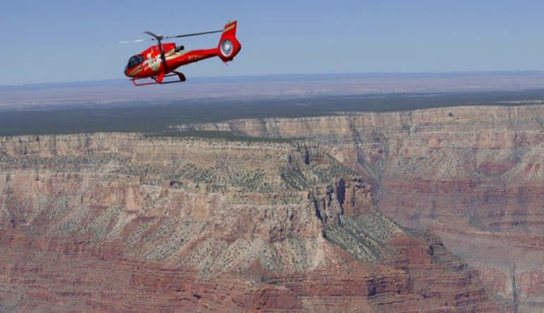 Grand Canyon Helicopter Tour, South Rim Grand Kingdom Flight