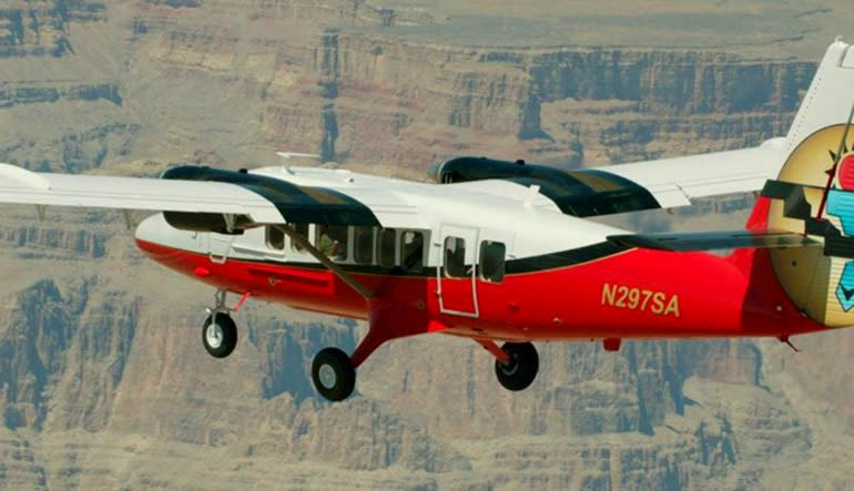 Grand Canyon South Rim Plane Tour - 50 Minutes  Aircraft