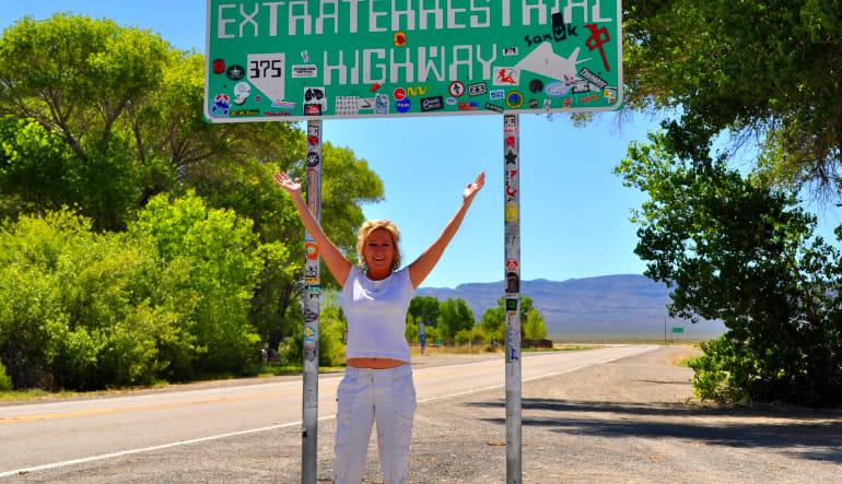Las Vegas Area 51 Photo Tour - Full Day Highway
