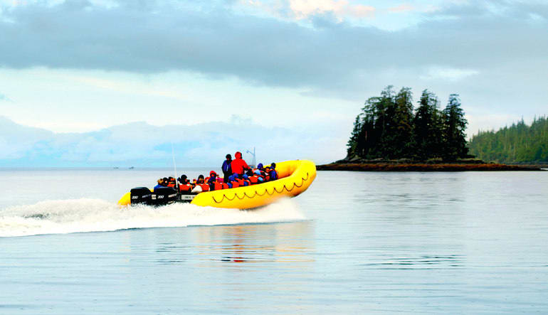 Ketchikan Rainforest Island Adventure - 4 Hours Boat