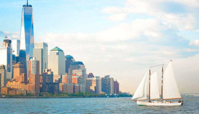 NYC Saturday Sail to Statue of Liberty - 2 Hours Tall Buildings