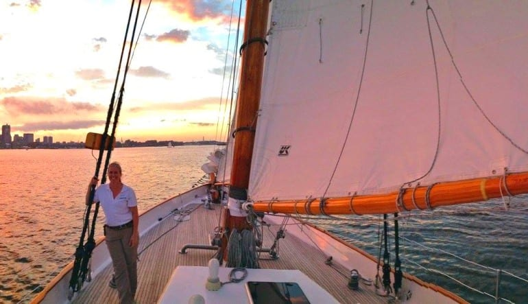 Boston Harbor Twilight Sail, City Lights Crew