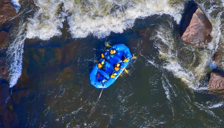 Whitewater Rafting Gauley River, Regular Rate - Full Day Aerial View