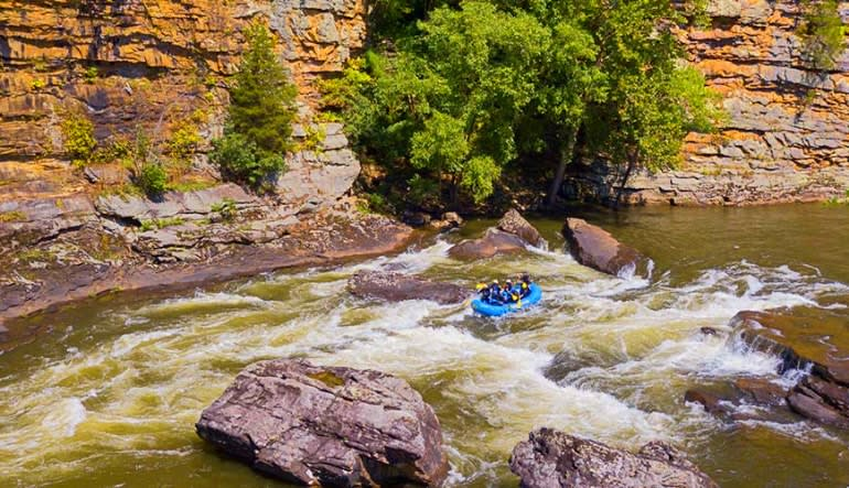Whitewater Rafting Gauley River, Regular Rate - Full Day Float