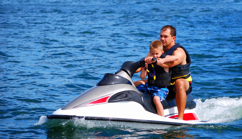 Jet Ski Ride Miami - 30 Minutes Father & Son